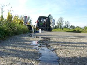 Grundwasserbeprobung