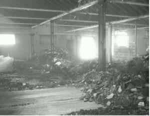 Separierung schadstoffbelasteter Gebäudeteile